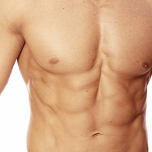 Depilación pectoral y abdomen