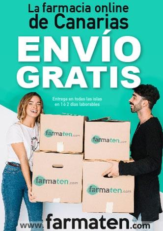 Farmaten farmacia online Canarias envío gratis