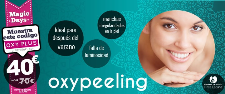 Promoción Oxypeeling Magic Days
