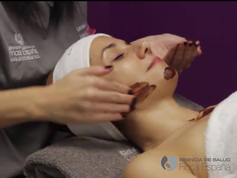Tratamiento facial de cacao