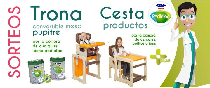 Sorteo compra productos infantiles Pedialac H
