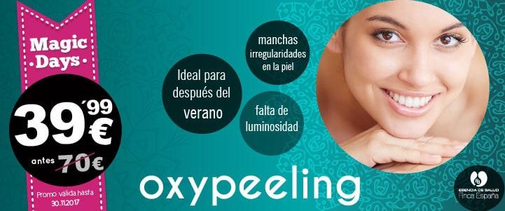 Oferta Magic Days tratamiento Oxypeeling
