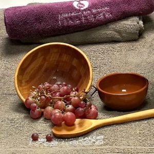 ritual vendimia, tratamiento corporal uva