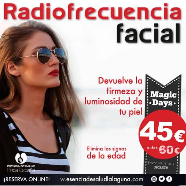 Radiofrecuencia Tenerife en promoción