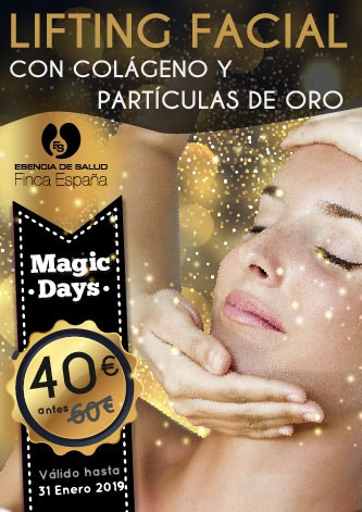 Magic Days Lifting facial oro y colágeno