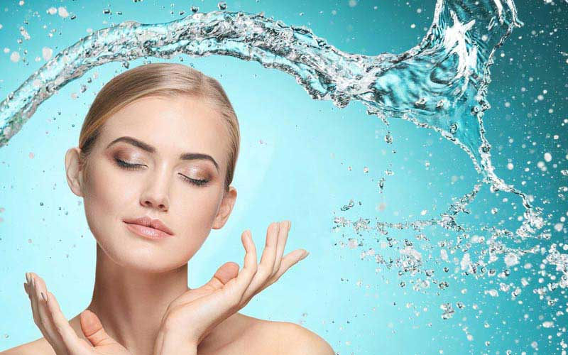 Beneficios estéticos agua