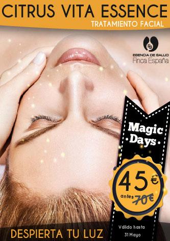 Magic Days: Tratamiento Facial Citrus Vita Essence
