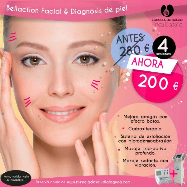Promo Bellaction Facial Diagnosis de la piel