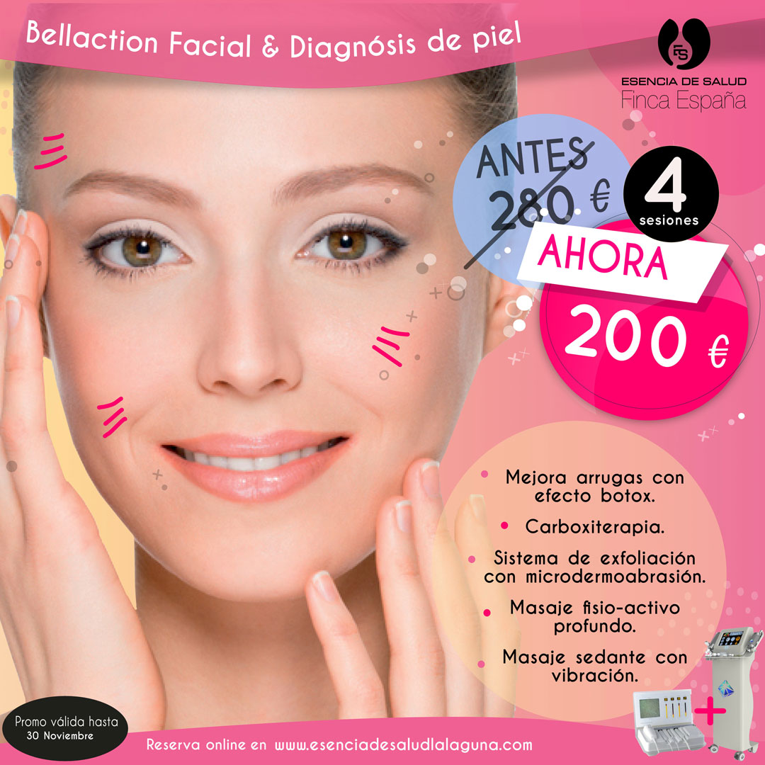 Promo Bellaction Facial Diagnosis de la piel